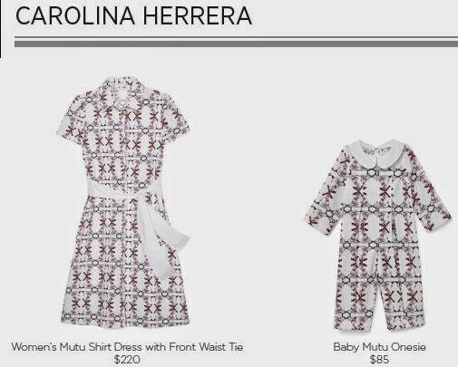 Carolina Herrera for Born Free Collection