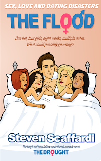 Sex, Love & Dating Disasters, The Flood, Steven Scaffardi, ebook, funny book, funny ebook, books for men, funny books about dating, funny books about sex, funny books about relationships, dating disasters, books about men, books for men, comedy book, comedy novel, laugh out loud, laugh out loud funny,