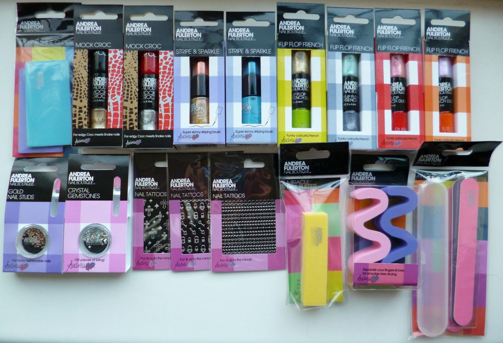 Painted Glitter: Andrea Fulerton Nail Salon Kit Box