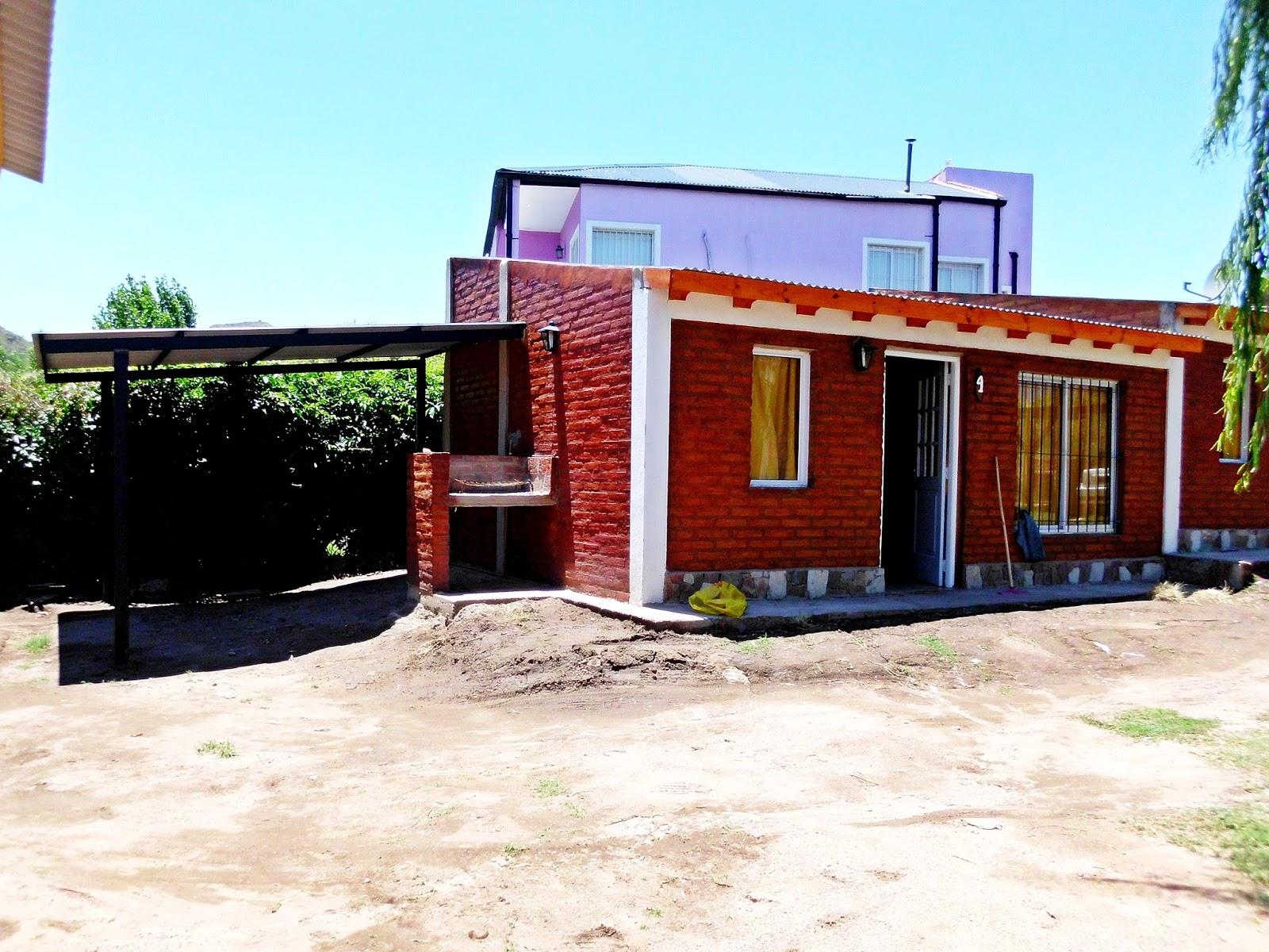 modelo chalet 2 dormitorios | constructora el indio
