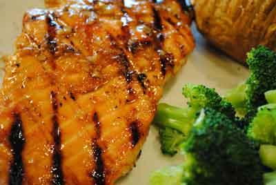 Ikan Salmon Madu Lemon Barbeque, Segar dan Bergizi Ting