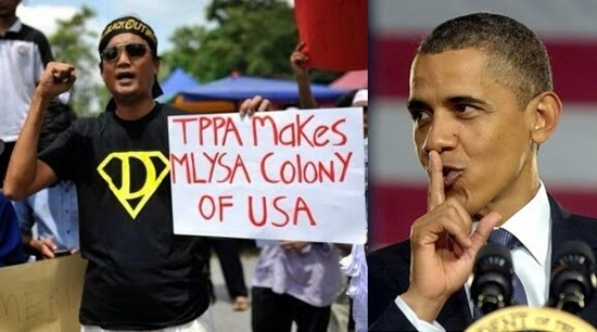 Bantah TPPA M sia must discuss its fears with Obama