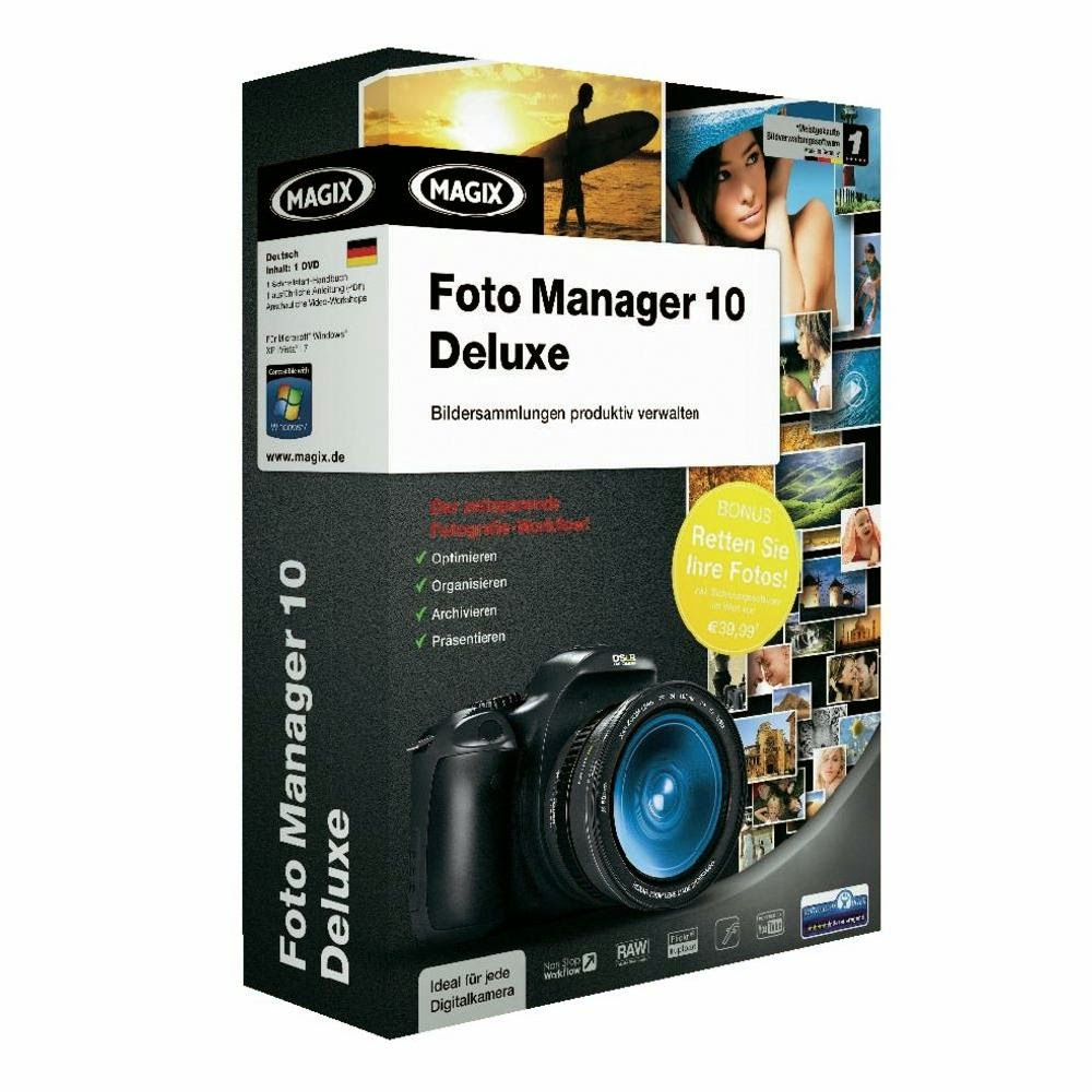 Magix Photo Manager 10 Deluxe Free Download