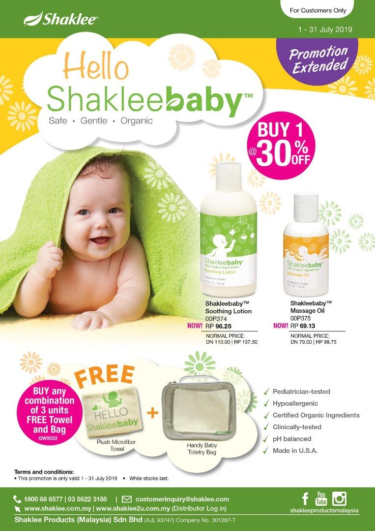 Promosi Shaklee Baby