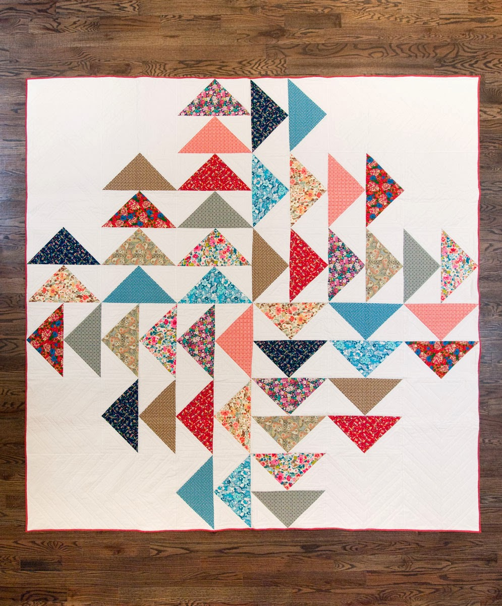 Fancy Tiger Crafts New Fancy Pattern Four Winds Quilt