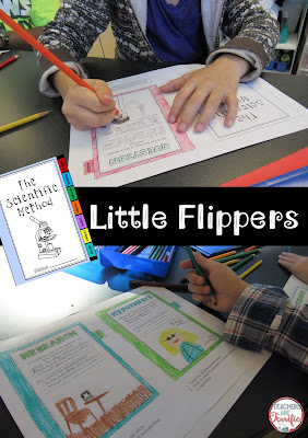 STEM and Science class Idea: Little Flipper books for jotting notes, illustrating, and science fun! These make great introductory lessons, review, or work for sub days! What will your kids draw to represent themselves as engineers or scientists?