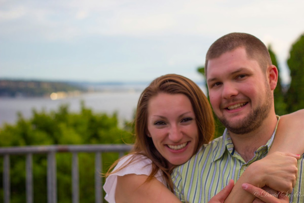 Engagement of CJ and Renee who will wed at Alderbrook Lodge - Patricia Stimac, A Heavenly Ceremony