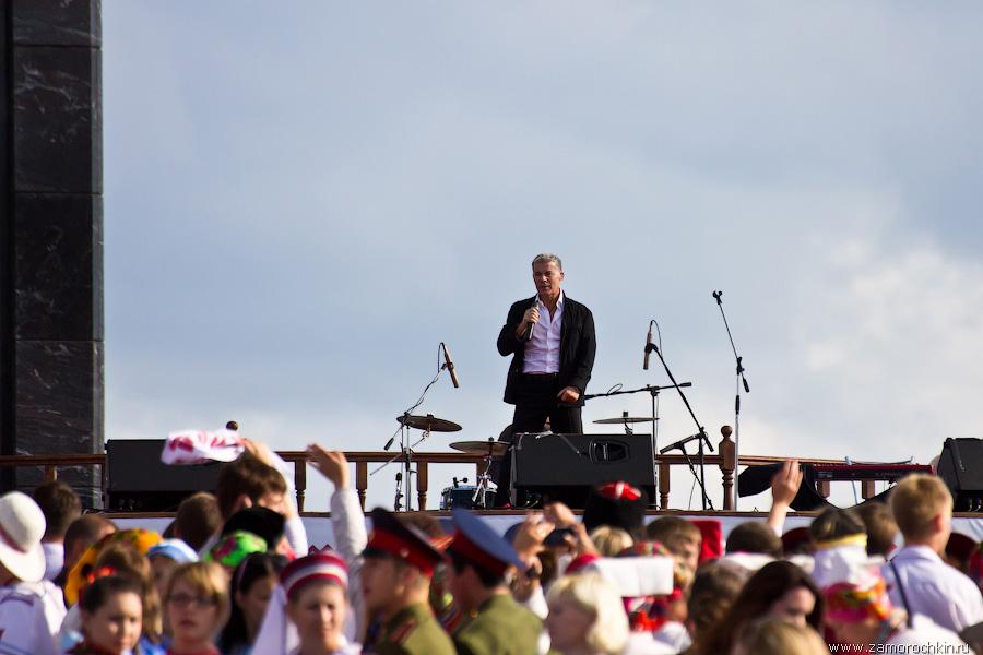 Олег Газманов на коцерте Тысячелетия единения мордовского народа с народами России