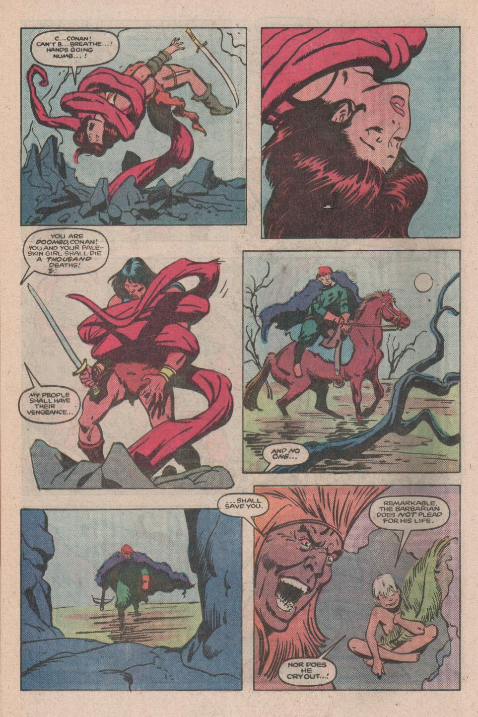 Conan the Barbarian (1970) Issue #173 #185 - English 15