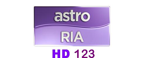Astro Ria HD Saluran 123 MULAI 29 MEI 2015