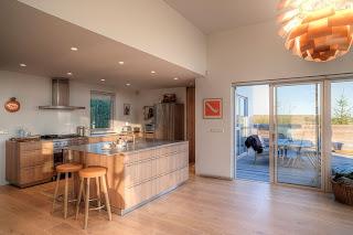 Casa de Diseño en Islandia. Sostenibilidad.