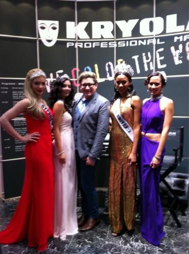 Miss Universe 2011 Leila Lopes Dusseldorf Germany Beauty International Trade Show