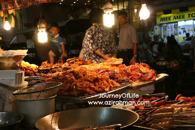 night market, hat yai, jalan-jalan hat yai