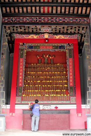 Altar del Memorial Yu Kiu