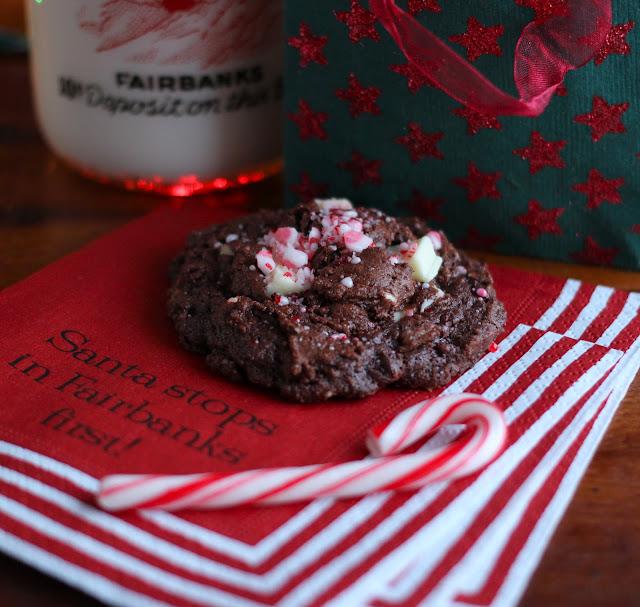 Arctic Garden Studio: Double Chocolate Peppermint Cookies