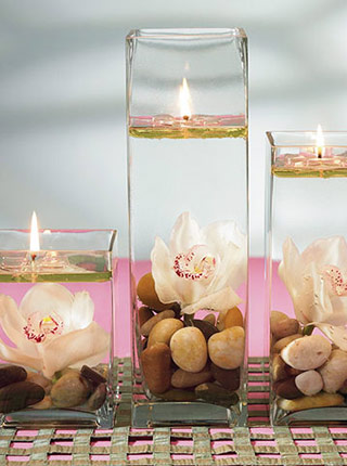 Romantic Decor 101: Candles ~ Crafts and Decor