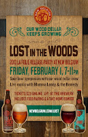 New Belgium Lost in the Woods Party