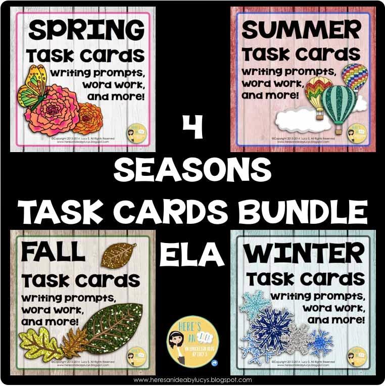 Four Seasons ELA bundle