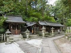 今宮神社:日吉社・大将軍社・八幡社