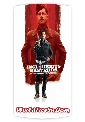 Poster Of Inglourious Basterds (2009) Full Movie Hindi Dubbed Free Download Watch Online At worldfree4u.com