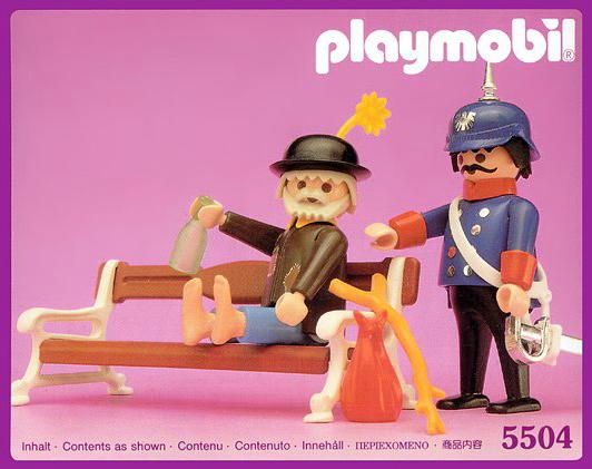 Playmobil drunk victorian