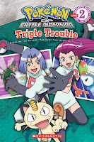 bookcover of Pokémon:  Triple Trouble