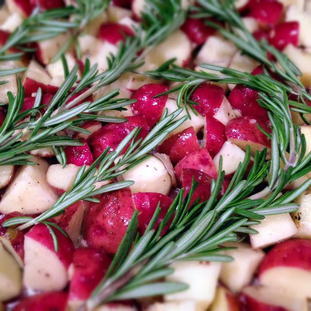Rosemary roasted red potato recipe
