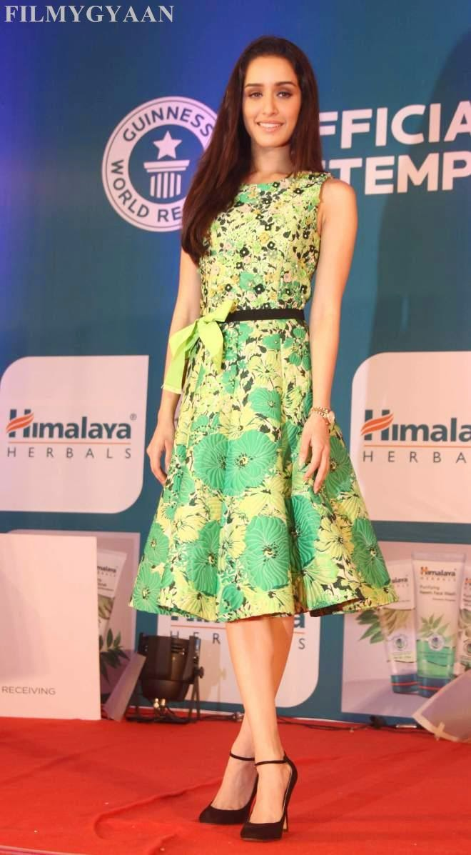 Shraddha Kapoor At Himalaya Herbals Event Photos