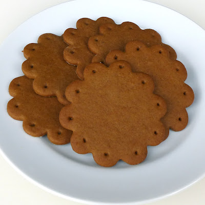 Pogens Inspired Gingersnap Scalloped Cookies