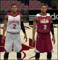 NBA 2K13 Cleveland Cavaliers Practice Jersey Patch