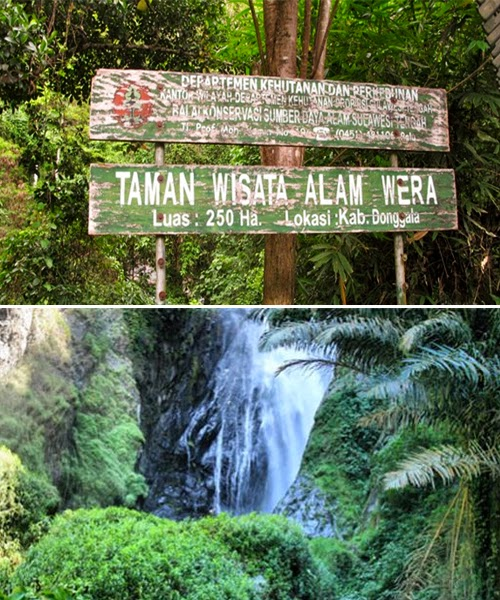 Air Terjun Taman Wisata Wera