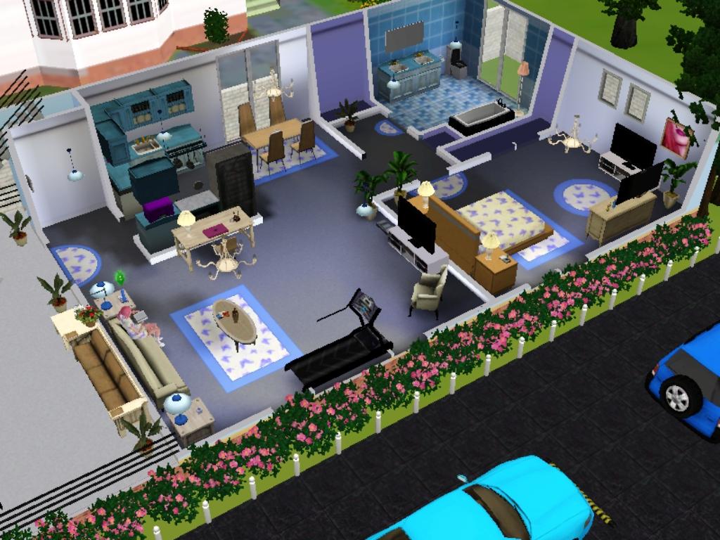 Umu Humairo\u0027s World & Umu Humairo\u0027s World: Desain Rumah The Sims 3 - House 1