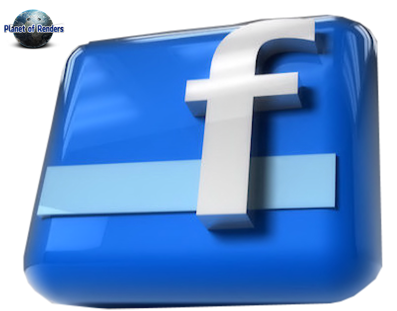 renders logo facebook planet of renders