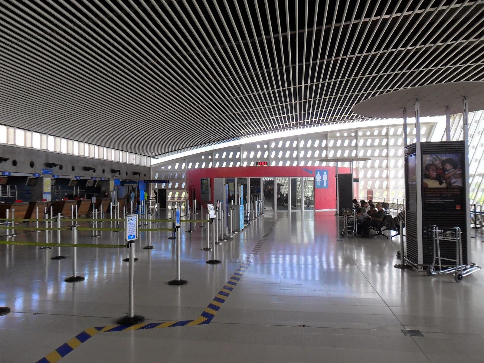 Nouveau Terminal agrandissement aéroport Pole Caraibes