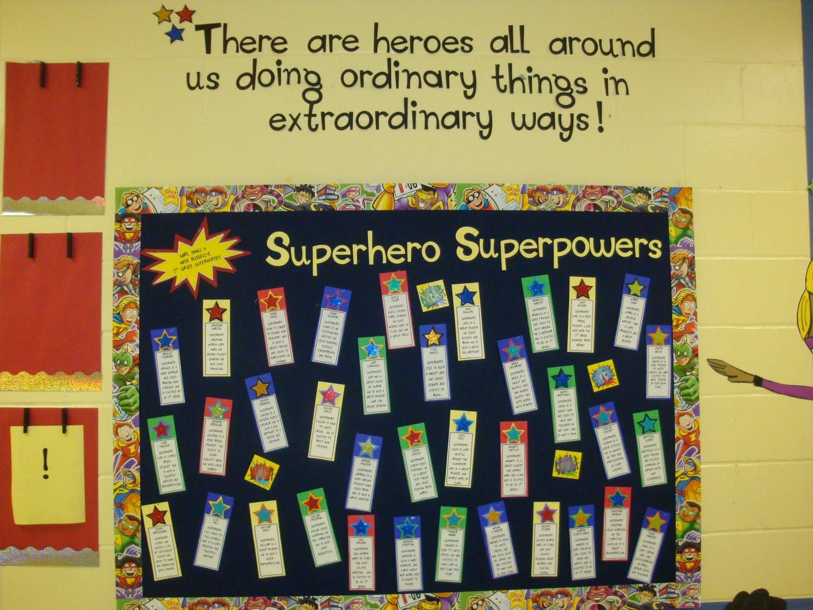 Classroom Quote Ideas ~ Quotes for school superhero theme quotesgram