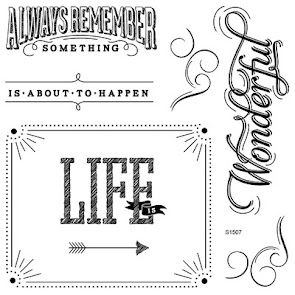 July 2015 Stamp of the Month: Life Is Wonderful
