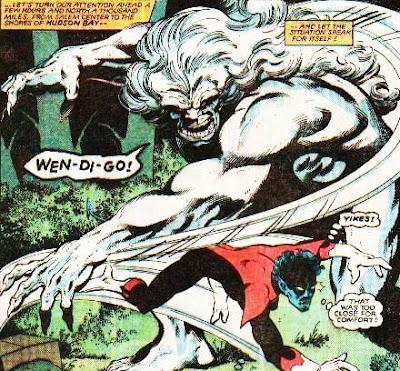 Wendigo Marvel