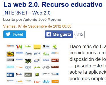 Recursos educativos da web 2.0