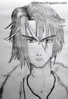 Squall Leonhart Sketch 1