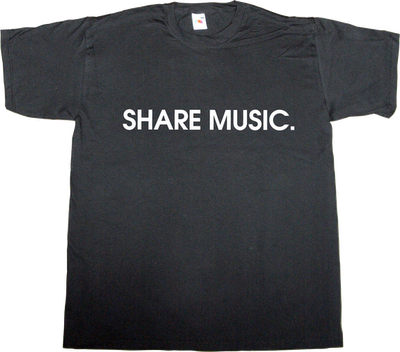 useless copyright internet 2.0 peer to peer p2p music business recorded music t-shirt ephemeral-t-shirts