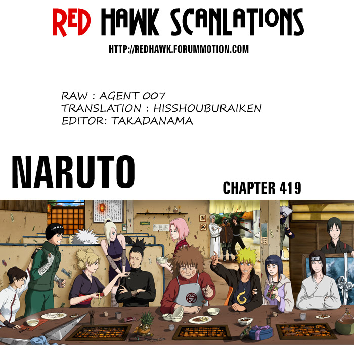 Naruto chap 419 Trang 19 - Mangak.info