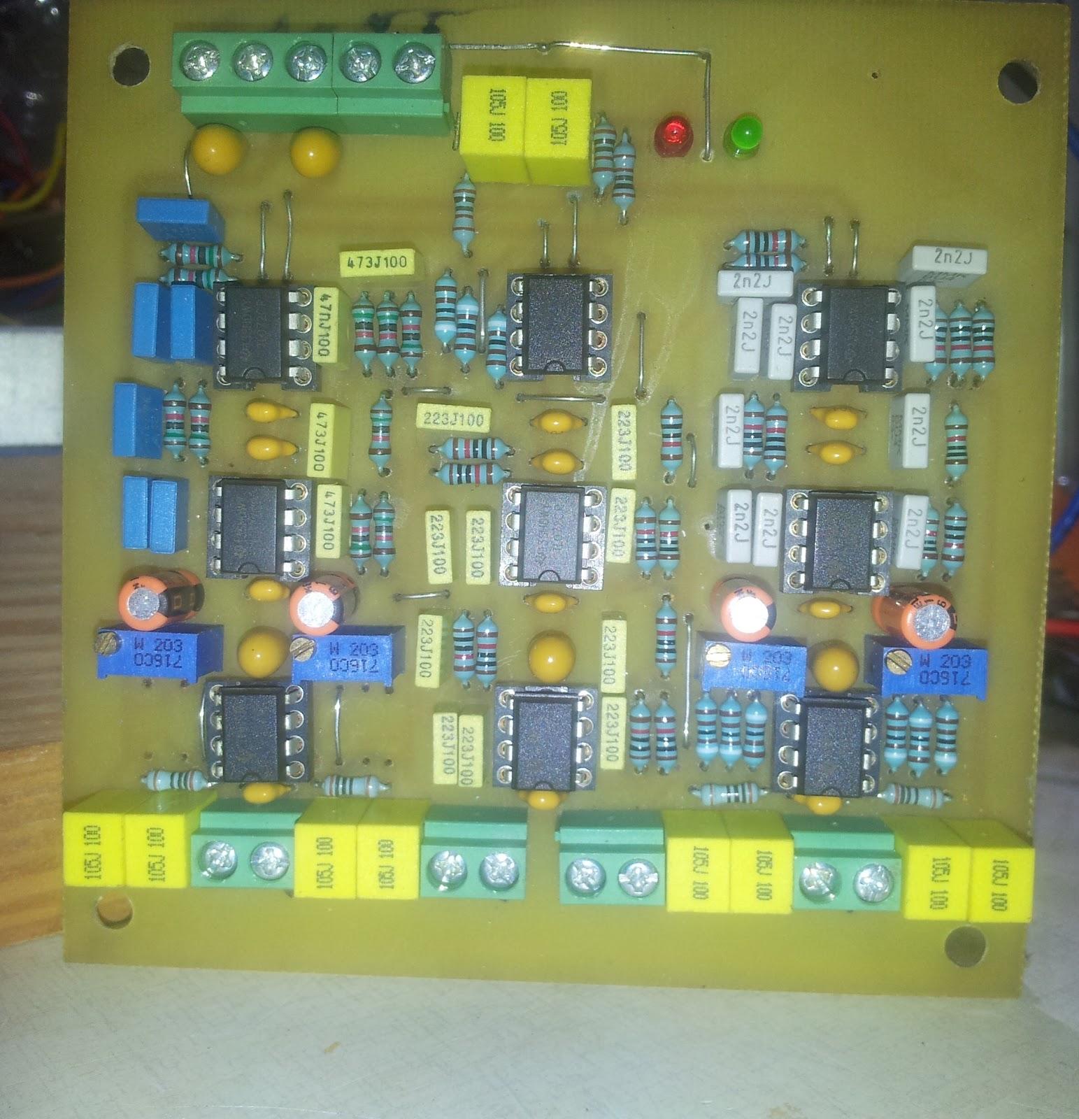 Diy Audio 4 Way Active Crossover Wiring Diagram Pcb