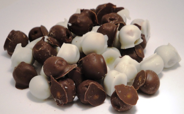 Chocolate-covered Green Olives