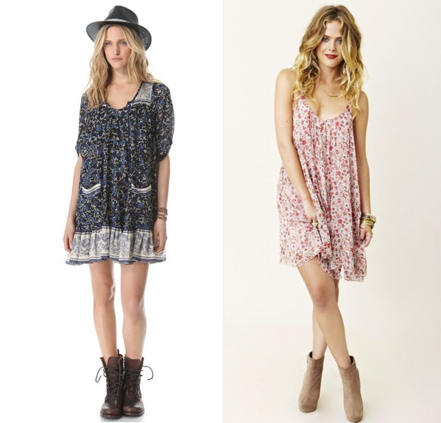 Feeling 90's Floaty Florals for Spring… & more