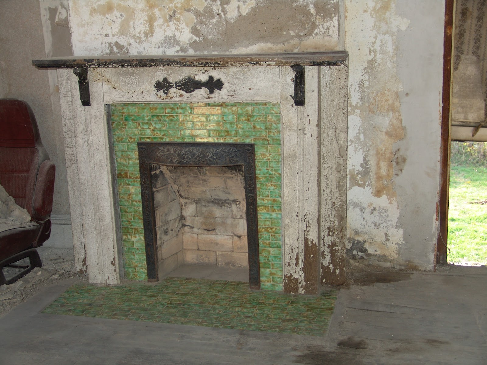 the horner house project fireplace tiles