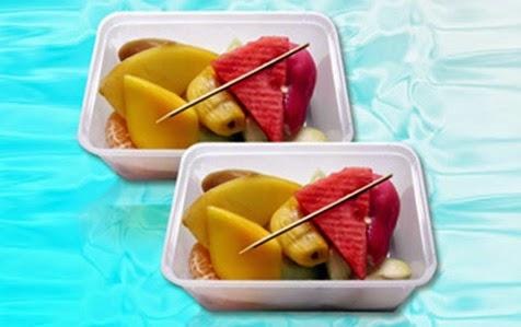 Khay nhựa đựng trái cây rau củ 05