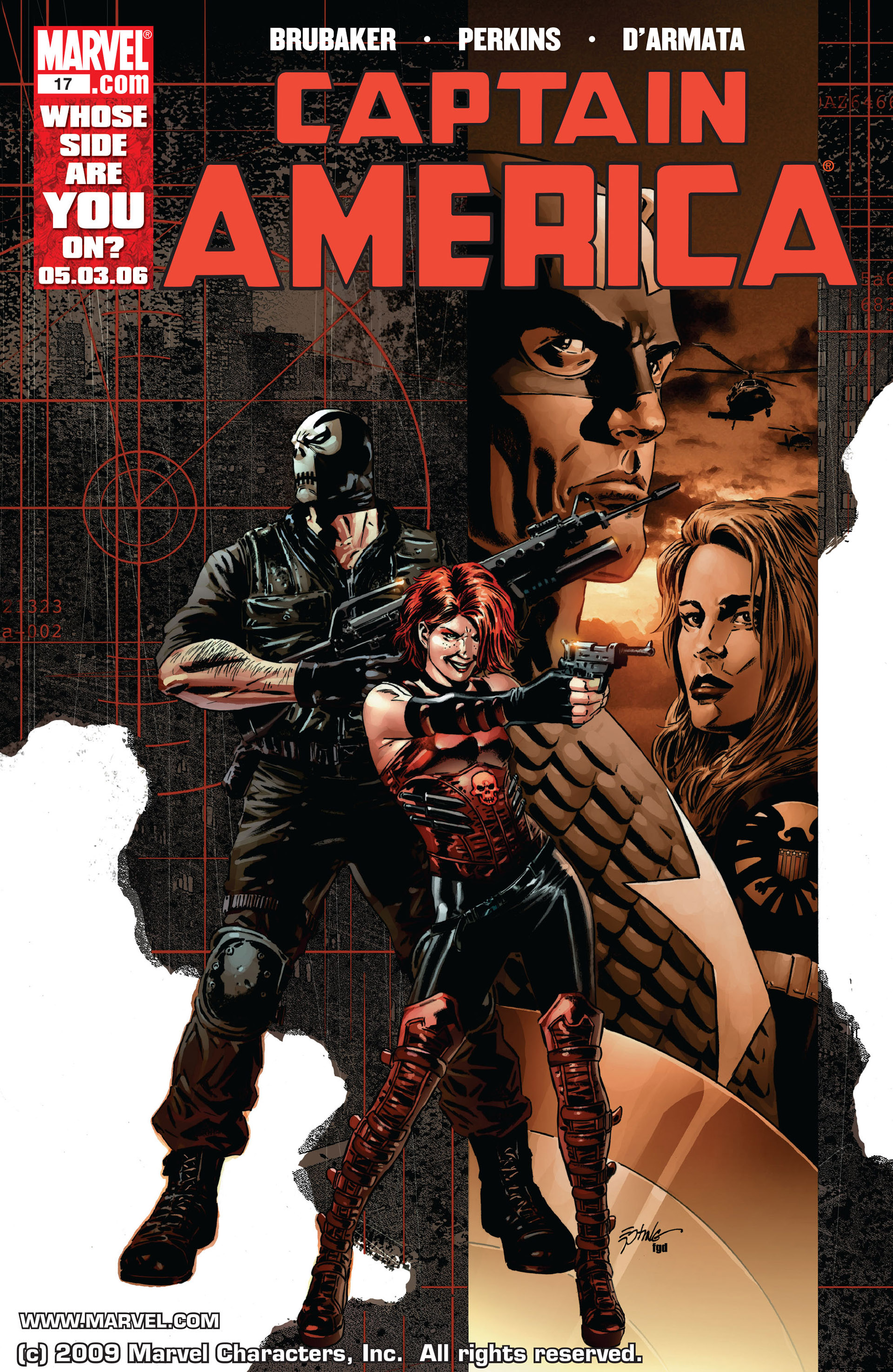 Captain America (2005) Issue #17 #17 - English 1