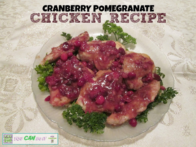 Cranberry Pomegranate Recipe for Chicken
