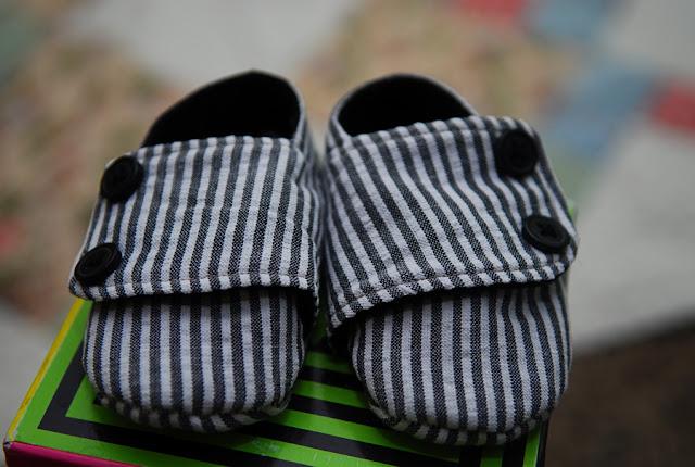 Litle man shoes