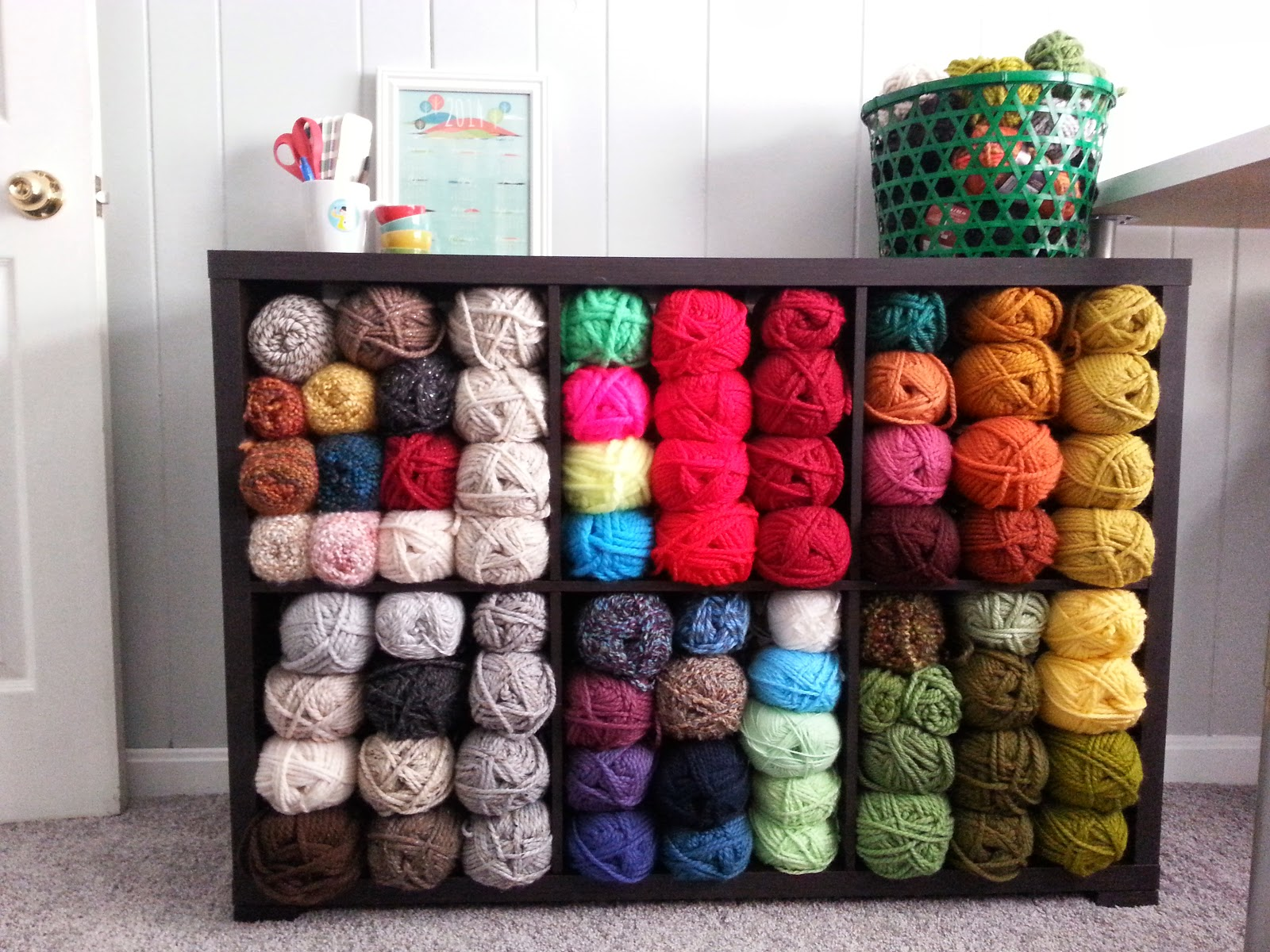 Yarn Storage :: foxwithglasses.blogspot.com